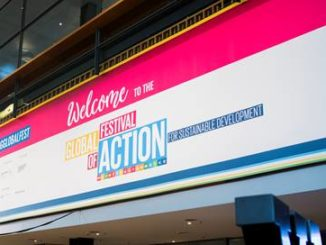 Canon has launched the programme at the UN's Global Festival of Action