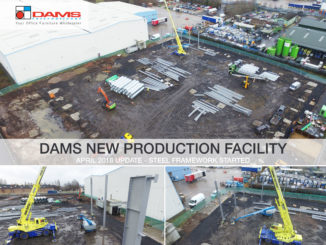 Dams is expanding its manufacturing capabilities