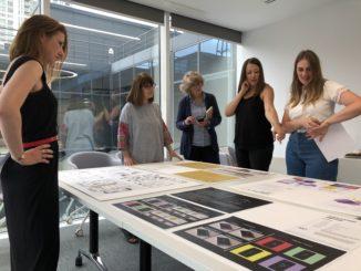 Judging 2018 Student Stationery Design Comp