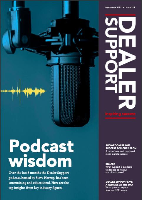 Dealer Support Magazine Cover September 2021