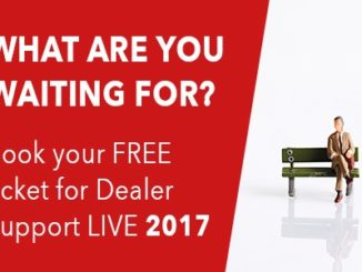 Did we mention this year's Dealer Support LIVE is all about sales?