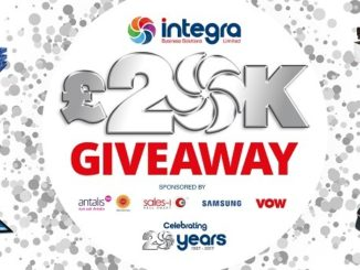 Integra announces 20th anniversary £20k winners