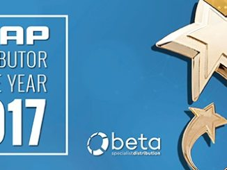 Beta named QNAP Distributor of the Year 2017