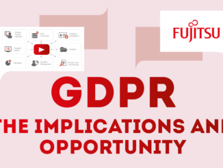 GDPR: The implications and opportunity