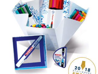 edding celebrates its most successful year at London Stationery Show