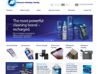 AF International launches new website