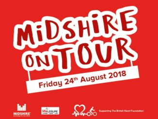 Midshire on tour for the British Heart Foundation