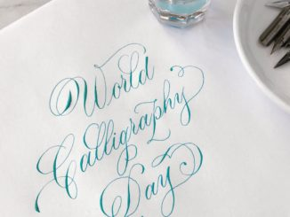 World Calligraphy Day proves successful once again