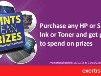 Exertis Supplies launches HP 'Points for Prizes' promotion