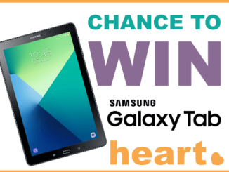Win a Samsung Galaxy Tablet with HEART SYSTEMS