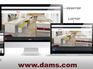 Dams unveils improved website