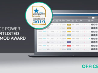 Office Power shortlisted for ECMOD award