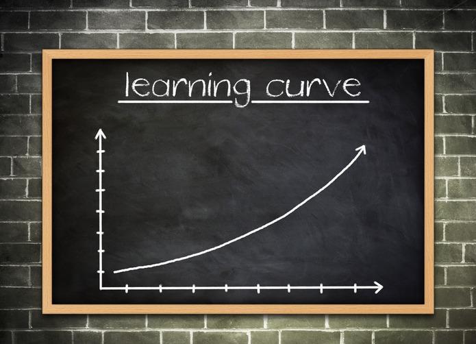 learning curve – knowledge progress