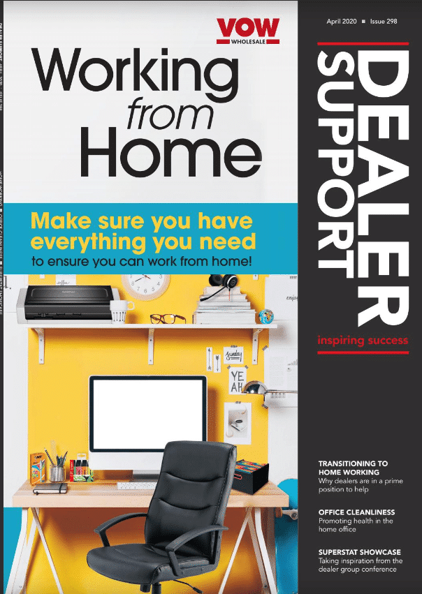 Dealer Support April Issue 2020 Cover