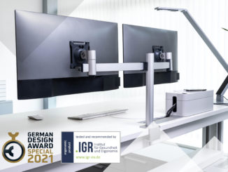 German design award for Durable monitor mounts