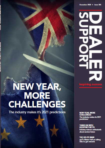 Dealer Support Magazine Cover March 2020