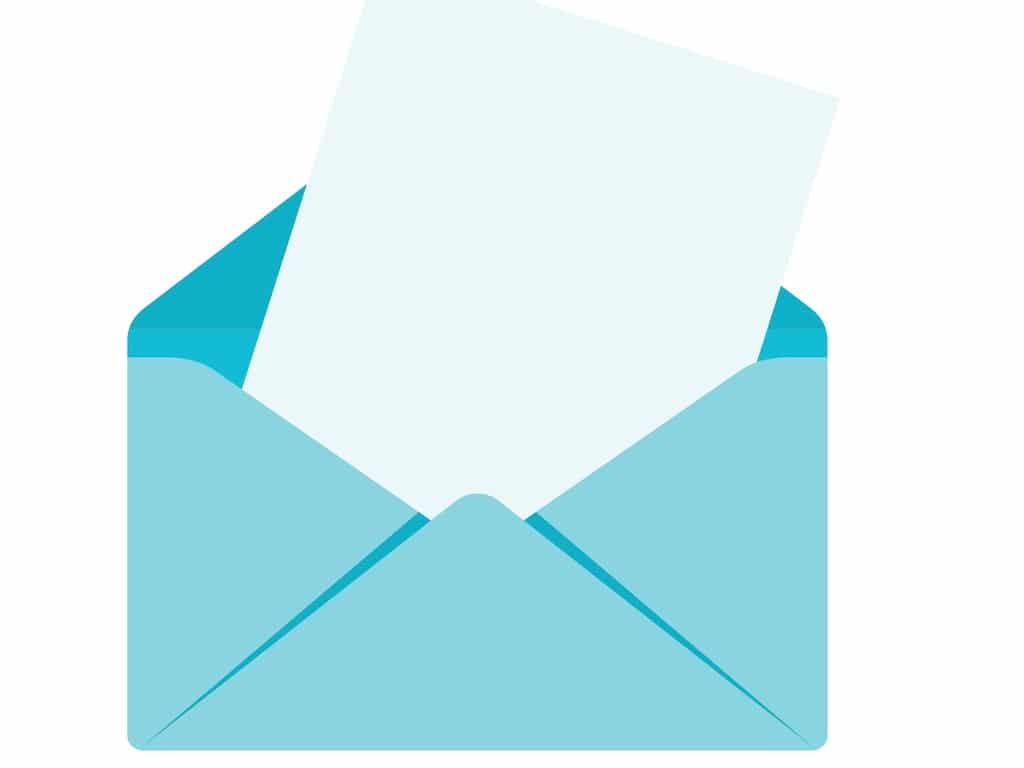envelope-with-sheet-vector-id824800974