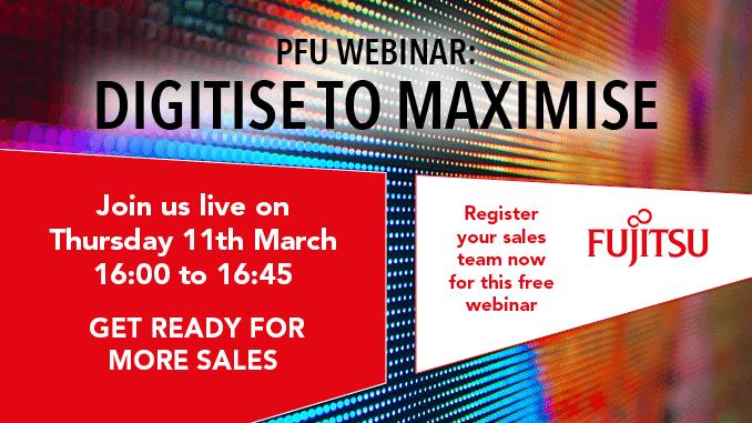 PFU webinar: digitise to maximise
