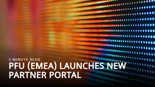 Fujitsu new partner portal