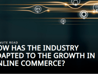 How has the industry adapted to the growth in online commerce?
