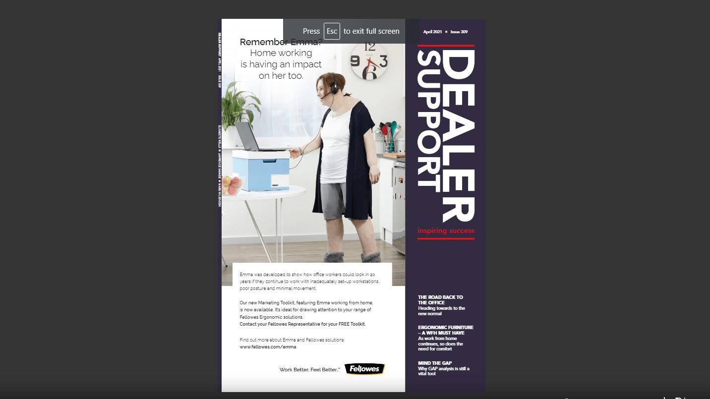 Dealer Support April 2021
