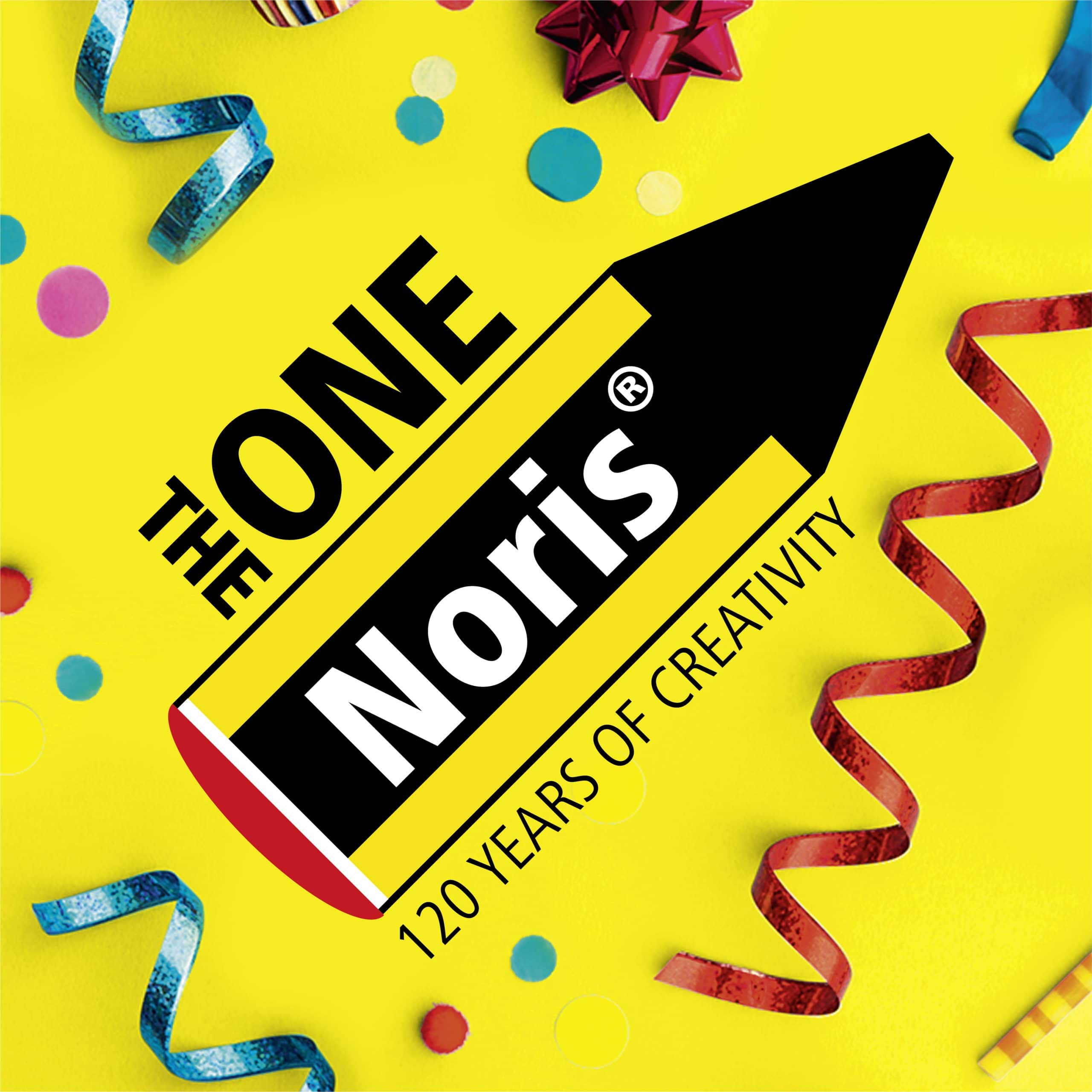 Noris 120 birthday logo