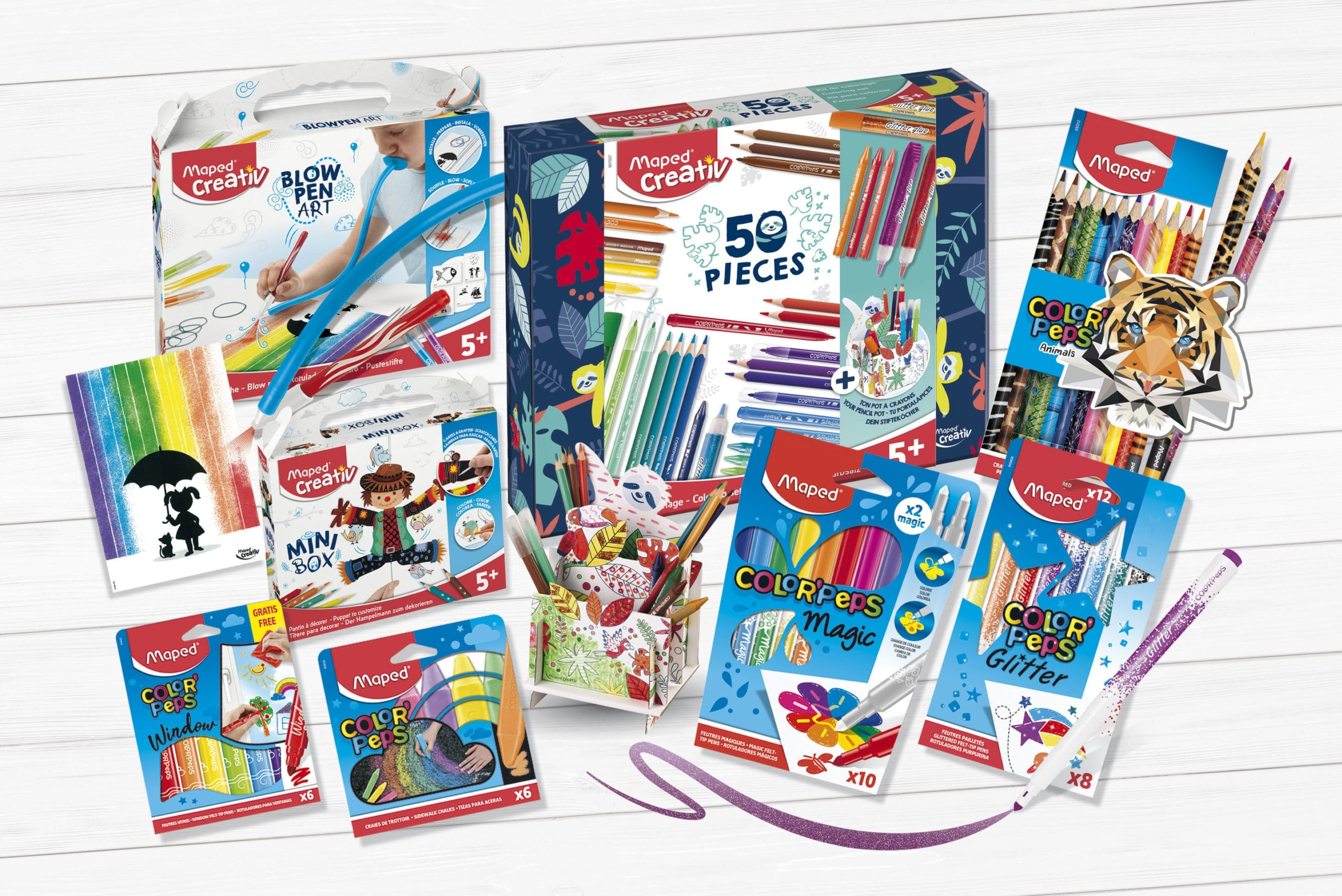 Maped Helix is sponsoring National Stationery Week's Get Crafty Day with Maped Creativ and Maped Color'Peps