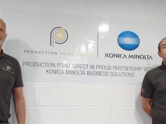 Konica Minolta and Production Print Direct Ltd partner