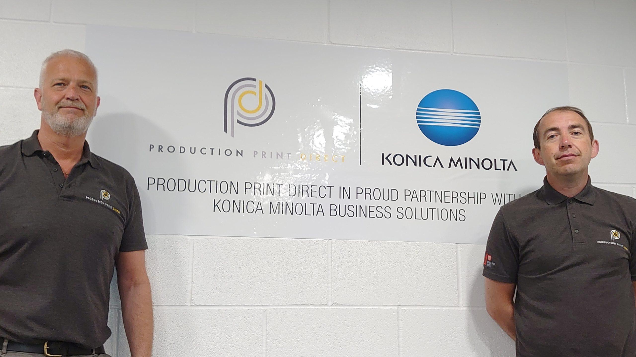 Production Print Direct and Konica Minolta Partnership