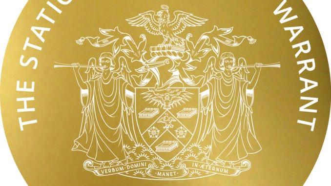The Stationers' Company Warrants Recipients 2021