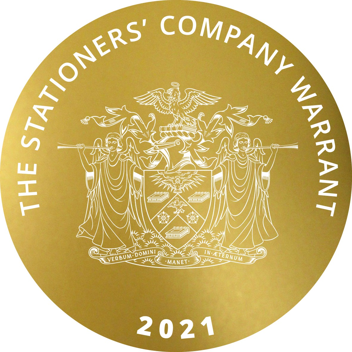 STATIONERS WARRANT GOLD TEXTURE