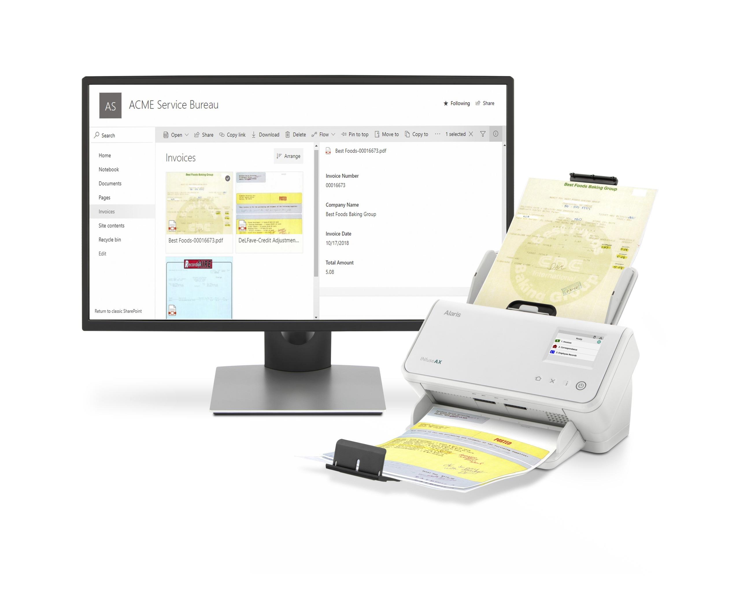 WW_Alaris INfuse AX Scanner product photography – BPO, Service Bureau