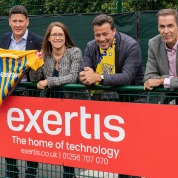 Exertis partners with Basingstoke Town Football Club